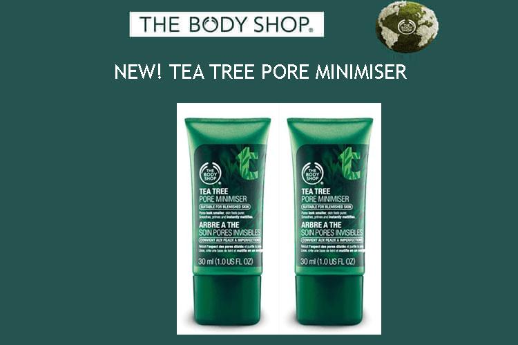 NEW! TEA TREE PORE MINIMISER
