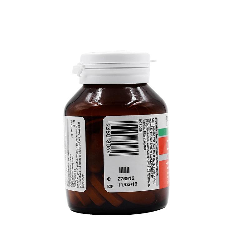 Viên uống phòng ngừa GOUT- BLACKMORES CELERY 3000MG